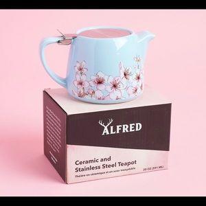 Floral print Alfred teapot